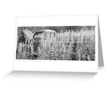 Lost Truck-Charland Lake Greeting Card