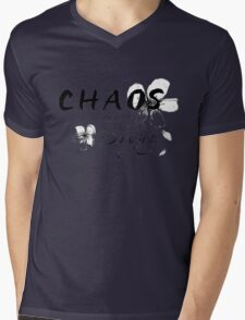 Chaos is what killed the dinosaurs, darling. Mens V-Neck T-Shirt