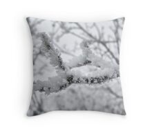 Hoar Frost #2 - Color Throw Pillow