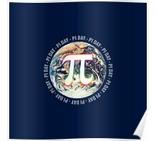 Pi Day on Earth Poster
