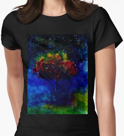 One tree in the universe Womens Fitted T-Shirt