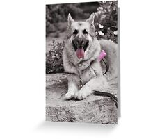 The tongue! Greeting Card