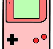 Pink vintage gameboy series by capsizx