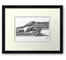 Time Racer Framed Print