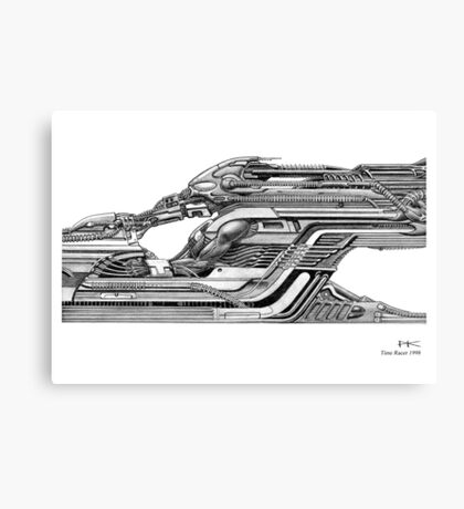 Time Racer Canvas Print