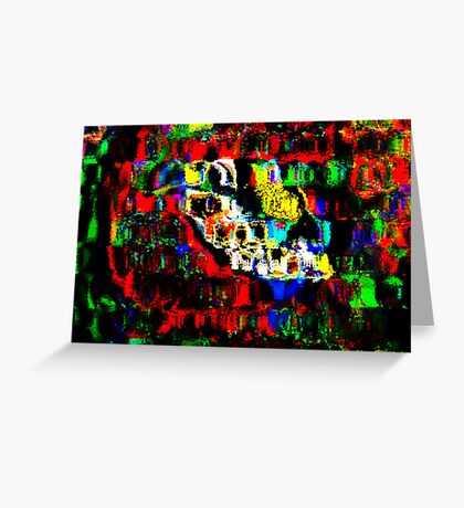 Blocks of Vibrant Color Greeting Card