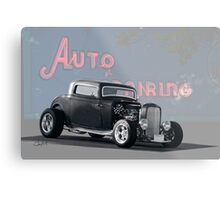 1932 Ford 3 Window Coupe Metal Print
