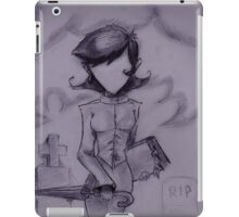 Graveyard Girl  iPad Case/Skin