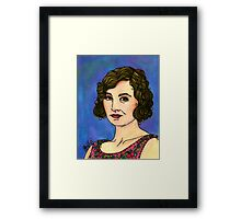Lady Edith Framed Print