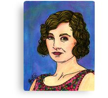 Lady Edith Canvas Print