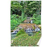 Port Vila Waterfall Poster