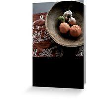 Fruitas de Espana tabola  Greeting Card