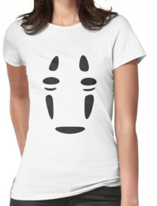 No Face (Spirited Away) Womens Fitted T-Shirt