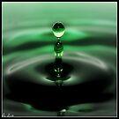 Pillar of waterdrops by Ashli Zis