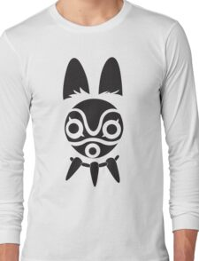 San's Mask (Princess Mononoke) Long Sleeve T-Shirt