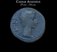Ancient Roman Coin - AUGUSTUS by sixstringphonic