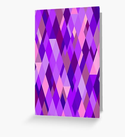 A Study in Violet Greeting Card