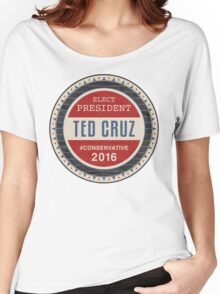 Ted Cruz 2016 Women's Relaxed Fit T-Shirt