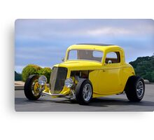1933 Ford 'HiBoy' Coupe Canvas Print