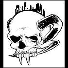 Horn Skull by Bates1010