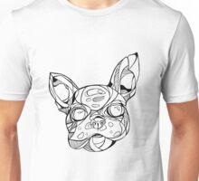 Artsy French Bulldog Illustration  Unisex T-Shirt