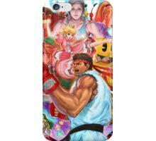 Ryu smash 4 iPhone Case/Skin