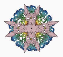 Sphynx Cat Mandala Kids Tee