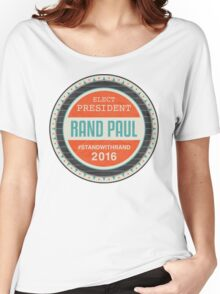 Vote Rand Paul 2016 Women's Relaxed Fit T-Shirt