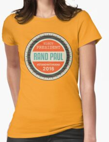 Vote Rand Paul 2016 Womens Fitted T-Shirt