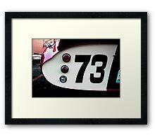Shelby Daytona Replica Framed Print
