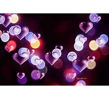 Love on the Internet Photographic Print