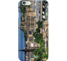 The East End of Edinburgh from the Castle iPhone Case/Skin