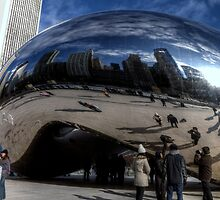 Cloud Gate aka the BEAN by Terence Russell
