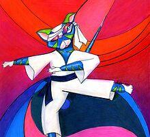 The Karate Kat by Alma Lee