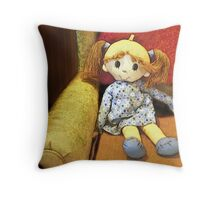 You Little Doll Throw Pillow