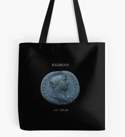 Ancient Roman Coin - EMPEROR HADRIAN Tote Bag
