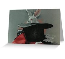The Magician's Wares Greeting Card