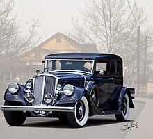 1932 Pierce Arrow Model 54 Club Brougham by DaveKoontz