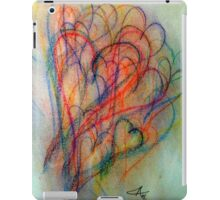 Colored Pencil Hearts iPad Case/Skin