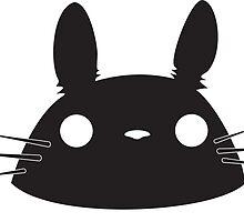 Totoro (My Neighbor Totoro) by Khanicus Designs