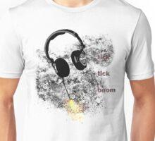 Headphone-explosion Unisex T-Shirt