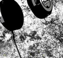 Headphone-explosion Sticker