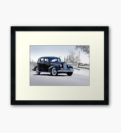 1940 Packard 'Super 8' Sedan Framed Print