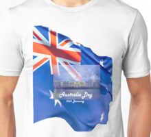 Australia Day 26th January. Unisex T-Shirt