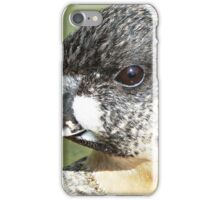 """ A White back  on the edge"" iPhone Case/Skin"