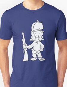 Elmer fudd geek funny nerd T-Shirt