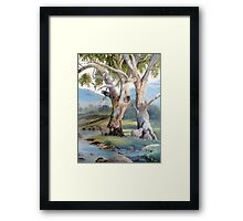 """Extract From Another AUSTRALIA DAY"" part 2 Framed Print"