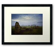 Castlerigg Stone Circle, Cumbria. UK Framed Print