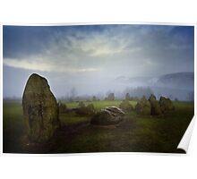 Castlerigg Stone Circle, Cumbria. UK Poster