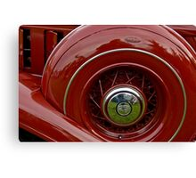 1933 Chrysler Abstract Canvas Print